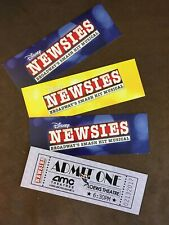 """Newsies"" Broadway Film Premiere - 4 Souvenir Movie Tickets"