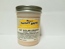Mayco Brush On Glaze Texture Brite Vintage 4 Oz. 647 Solar Orange Opaque