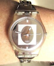 2002 Ladies Fate Swatch Quartz Bracelet Watch LK218G Working