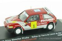 1/43 SEAT IBIZA BIMOTOR PROTO  Rally  IXO coche miniatura maqueta a escala