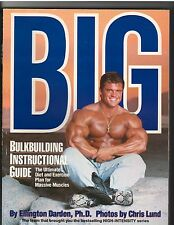 Bodybuilding Book..Big  Bulkbuilding Istructional Guide EDDIE ROBINSON by Darden
