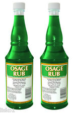 Jeris Osage Rub for Scalp Head face skin, Menthol for rejuvenation    2-14 oz.