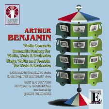 Arthur Benjamin Music for Violin, Viola & Orchestra
