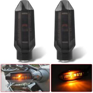 2x Motorcycle LED Turn Signal Indicator Amber for Honda CBR 500R 650R 2019-2021