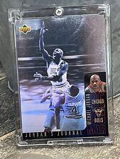 Michael Jordan Card - 1996 SP - RARE HOLO UPPER DECK INSERT  - Bulls JERSEY #23