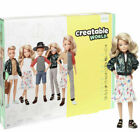 Внешний вид - Creatable World Deluxe Character Kit Doll Blonde Wavy DC-414  100+ LOOKS