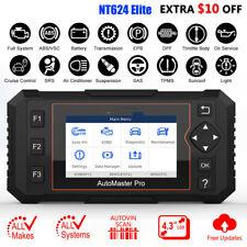 OBD2 Scanner Full System Auto Diagnostic Tool Oil EPB Reset Code Reader