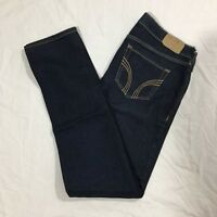 Hollister Womens Juniors Size 5S Dark Wash Low Rise Laguna Skinny Jeans #05