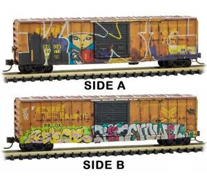 "Micro-Trains MTL Z-Scale 50ft Box Year in Railbox 2020 #10 ""Mischief Night"""