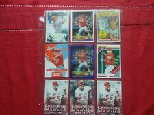 MIKE TROUT-(15)CARD LOT TOPPS/DONRUSS/PANINI 2014-2018-2019
