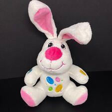 Dan Dee Easter Bunny Rabbit Plush White Pink Jelly Beans Posable Ears FAST SHIP