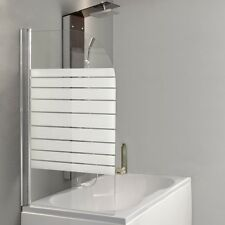 Deluxe Duschabtrennung Whada-aura-60 60cm Wannenabtrennung Bad dusche