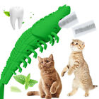 Cat Self-Cleaning Toothbrush With Catnip Interactive Cat Pet Toy Dental Toy Gift