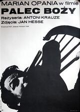 Der Finger Gottes Palec bozy polnisches polish Filmposter GEROLLT Polen Krauze