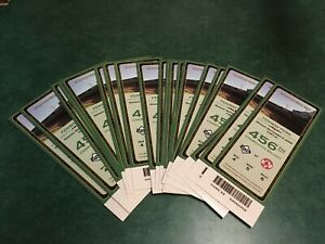 Boston Red Sox 456th Straight Sellout Fenway Park Oversized Ticket Lot of 20
