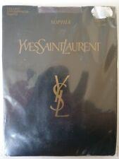 YVES SAINT LAURENT COLLANT VOILE 20 DEN TAILLE 2 (40-42) MODELE SOPHIA GRIS
