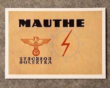 Mauthe FMS Synchron - Dolektra Katalog, Uhrenbuch, Musterbuch