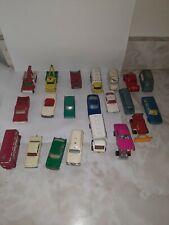 Vintage Matchbox Lesney Lot Of 21 Vintage Die Cast Cars Trucks 1960's 1970's