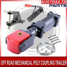 OFF ROAD MECHNAICAL POLY BLOCK COUPLING TRAILER PARTS WITH HAND BRAKE BRACKET