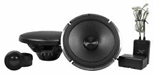 "Pair ALPINE X-S65C 360w 6.5"" Car Component Speakers w/1"" Graphite Dome Tweeters"