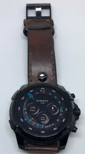 Diesel On Full Guard Smartwatch 48mm Stainless Steel - Black with Brown Band