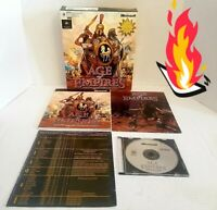 🕹️🔥 Age Of Empires PC Game COMPLETE! W/ Guidebook BIG BOX FAST SHIP L👀K⬇️😀⬇️