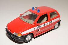 - BBURAGO BURAGO FIAT PUNTO VIGILI DEL FUOCO FIRE CAR NEAR MINT CONDITION