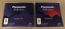 PANASONIC REAL 3DO INTERACTIVE MULTIPLAYER SAMPLER CD excellent condition