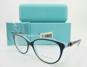 Tiffany & Co. TF 2113 8165 54mm Blue and Azure Women's Eyeglasses, with Box/Case