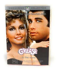 Grease (DVD, 1978) Bonus Song Book John Travolta Region 4 Free Postage