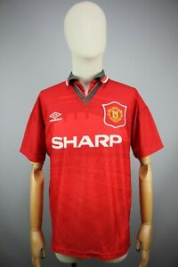 Umbro Manchester United 1994/1995 HOME FOOTBALL JERSEY ADULT SHIRT Size M