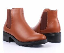 """3 Color Formal Slip On Only Expandable Opening 2"""" High Heels Womens Ankle Boots"""