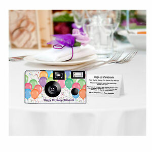 Holiday Party 5 Winter Wonderland Single Use Disposable Camera Christmas