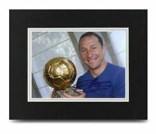 Jean-Pierre Papin Signed 10x8 Photo Display Marseille Autograph Memorabilia +COA