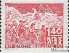 Suède 422A neuf avec gomme originale 1957 50 j. GZRS