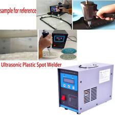Portable Welder Ultrasonic Spot Welding Machine Plastic Welder Spot 600w 28 Khz