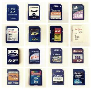 Secure Digital 64MB 128MB 256MB 512MB 1GB 2GB 4GB 8GB 16GB 32GB SD Card
