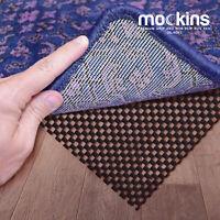 Mockins Black Premium Grip and Non Slip Protective Rug Pad 8 x 10 Area Rug Pad
