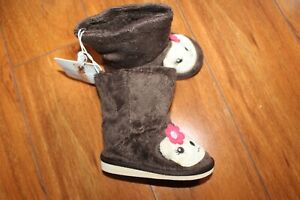 NEW GIRLS GYMBOREE SZ 4 BOOTS FALL FOR AUTUM