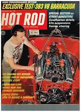 HOT ROD  DECEMBER 1966 SEE CONTENTS 6 PAGE COLOR GM AD CAMARO GTO OLDS 442 VETTE