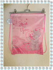 "Sac de Sport - Piscine à Cordons Rose 'Just For You "" Me to you Neuf"