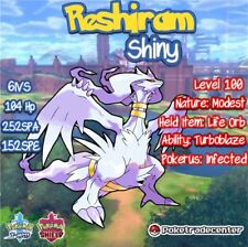Pokemon Sword And Shield Shiny Reshiram 6Ivs Max Evs