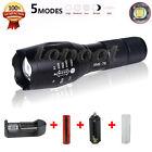 3000 Lumen Zoomable Cree XML T6 LED 18650 Flashlight Focus Torch Zoom Lamp Light