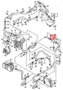 Genuine AUDI A6 allroad qu. quattro 4BH Coolant Regulator 4B3121113A
