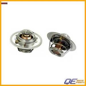 Engine Coolant Thermostat For: Ford Kia Sephia Spectra Mazda 323 MX-3 Mercury