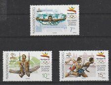 v1613 Ungarn/ Olymüpia 1992  MiNr 4184+86+87 aus Satz **