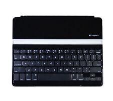 Logitech Ultrathin Bluetooth Keyboard Cover case 920-004013 For iPad 2 3 4 Black