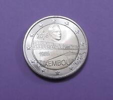 2 Euro Gedenkmünze Luxemburg 2016 - Charlotte Brücke Unz