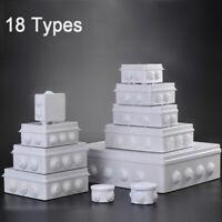 18 Taille Étanche IP55 Boîtier étanche projet Boîte de dérivation Plastique