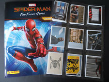 PANINI MARVEL SPIDER-MAN FAR FROM HOME 192 STICKER SET & EMPTY ALBUM